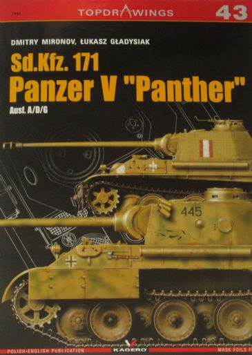 Sd.Kfz. 171 Panzer V Panther (Ausf. A/D/G), by Dmitry Mironov and Lukasz Gladysiak